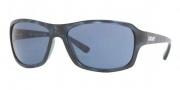 DKNY DY4075 Sunglasses Sunglasses - 349680 Blue Havana / Blue