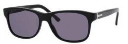 Gucci 1612/S Sunglasses Sunglasses - 0807 Black (BN Dark Gray Lens)