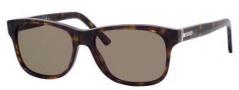 Gucci 1612/S Sunglasses Sunglasses - 0086 Dark Havana (70 Brown Lens)