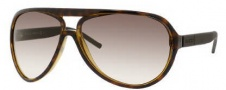 Gucci 1639/S Sunglasses Sunglasses - 0UYA Chocolate Havana Ruthenium (CC Brown Gradient Lens)