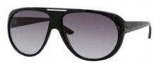 Gucci 1647/S Sunglasses Sunglasses - 0D28 Shiny Black (N6 Gray Gradient Lens)
