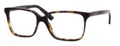 Gucci 1643 Eyeglasses Eyeglasses - 0086 Dark Havana