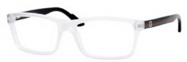 Gucci 1645 Eyeglasses Eyeglasses - 0QVM Crystal Black