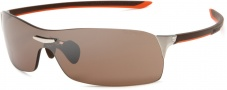 Tag Heuer Squadra 5508 Sunglasses Sunglasses - 205 Havana Orange / Pure Lug / Brown Lenses