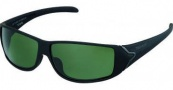 Tag Heuer Racer 9207 Sunglasses Sunglasses - 311 Mat Black Soft Temples / Shiny Black Lug / Outdoor Green Lenses