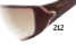 Tag Heuer Racer 9207 Sunglasses Sunglasses - 212 Brown - Polished Red Gold Temple / Gradient Brown Outdoor + Flash Lens