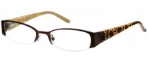 Candies C Alba Eyeglasses Eyeglasses - BRN: Brown