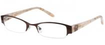 Candies C Alicia Eyeglasses Eyeglasses - DKBRN: Dark Brown