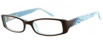 Candies C Andrea Eyeglasses Eyeglasses - BRN: Brown / Crystal Blue