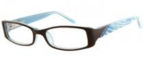Candies C Andrea Eyeglasses Eyeglasses - BRN: Brown / Crystal Blue