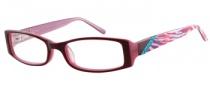 Candies C Andrea Eyeglasses Eyeglasses - BU: Burgundy / Pink