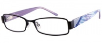 Candies C Aubrey Eyeglasses Eyeglasses - BLK: Satin Black