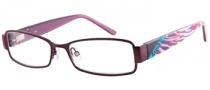 Candies C Aubrey Eyeglasses Eyeglasses - PL: Satin Plum