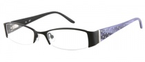Candies C Blair Eyeglasses Eyeglasses - BLK: Satin Black