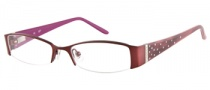 Candies C Blair Eyeglasses Eyeglasses - BU: Satin Burgundy