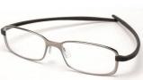 Tag Heuer Reflex 2 Eyeglasses 3706  Eyeglasses - 017 Pure Front / Dark Grey Temples