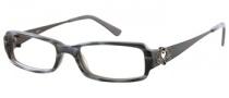 Candies C Charlie Eyeglasses Eyeglasses - BLKHRN: Black / Grey Horn