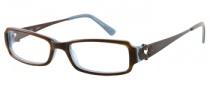 Candies C Charlie Eyeglasses Eyeglasses - BRNHRN: Brown Horn