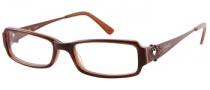 Candies C Charlie Eyeglasses Eyeglasses - BU: Burgundy Horn