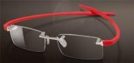 Tag Heuer Reflex 2 Eyeglasses 3741  Eyeglasses - 004 Red / Pure