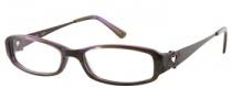 Candies C Chelsea Eyeglasses Eyeglasses - PURHRN: Purple Horn