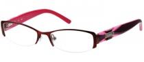 Candies C Ella Eyeglasses Eyeglasses - BU: Satin Burgundy