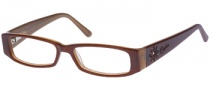 Candies C Fiona Eyeglasses Eyeglasses - BRN: Brown