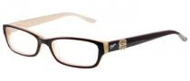 Candies C Floral Eyeglasses Eyeglasses - BU: Burgundy Beige