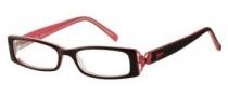 Candies C Hannah Eyeglasses Eyeglasses - BUPK: Burgundy Pink