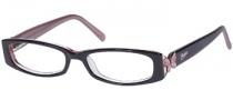 Candies C Hazel Eyeglasses Eyeglasses - BLKPK: Black Pink