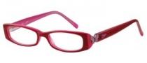 Candies C Hazel Eyeglasses Eyeglasses - BUPK: Burgundy Pink