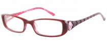 Candies C Heidi Eyeglasses Eyeglasses - BU: Burgundy Horn