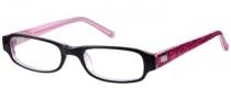 Candies C Nicolete Eyeglasses Eyeglasses - BLK: Black / Crystal