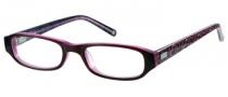 Candies C Noelle Eyeglasses Eyeglasses - BU: Burgundy