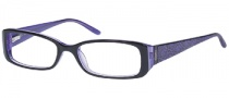 Candies C Rihanna Eyeglasses Eyeglasses - BLK/PUR: Black / Purple