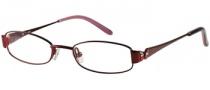 Candies C Scarlett Eyeglasses Eyeglasses - BU: Burgundy