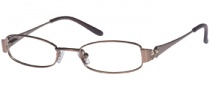 Candies C Scarlett Eyeglasses Eyeglasses - LBRN: Light Brown