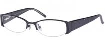 Candies C Vivienne Eyeglasses Eyeglasses - BLK: Black Crystal
