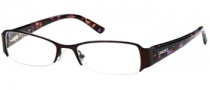 Candies C Zola Eyeglasses Eyeglasses - BRN: Brown