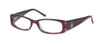 Rampage R 113 Eyeglasses Eyeglasses - BU: Burgundy / Green