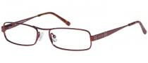Rampage R 122 Eyeglasses Eyeglasses - BU: Burgundy