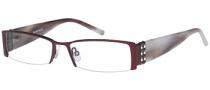 Rampage R 124 Eyeglasses Eyeglasses - BU: Burgundy