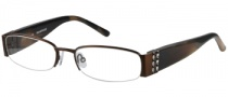 Rampage R 132 Eyeglasses Eyeglasses - BRN: Satin Brown