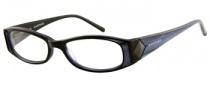 Rampage R 147 Eyeglasses Eyeglasses - BLK: Black / Crystal Blue