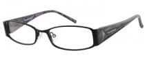 Rampage R 148 Eyeglasses Eyeglasses - BLK: Satin Black