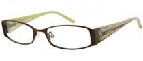Rampage R 148 Eyeglasses Eyeglasses - BRN: Satin Brown