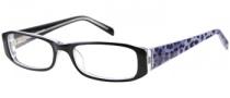 Rampage R 150 Eyeglasses Eyeglasses - BLK: Black Crystal