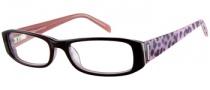 Rampage R 150 Eyeglasses Eyeglasses - BU: Burgundy Crystal Pink