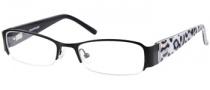 Rampage R 151 Eyeglasses Eyeglasses - BLK: Satin Black