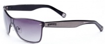 True Religion Mia Sunglasses Sunglasses - Black W/ Grey Lens